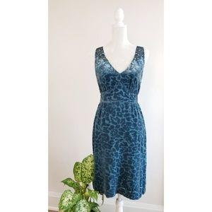 Anthropologie Matilija Burnout Dress